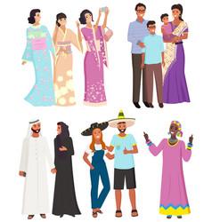 People ethnic origin national diversity vector