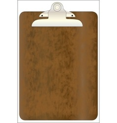 Worn clipboard vector