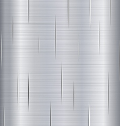 Brushed Metal with Scratches vector image
