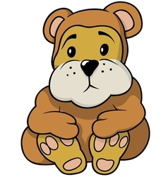 Brown Little Bear vector