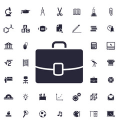 Case icon vector