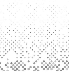 Grey geometrical abstract dot pattern background vector