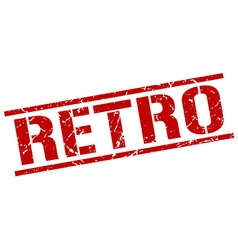 retro stamp vector image