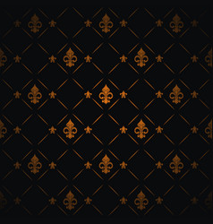 royal lily background vector image