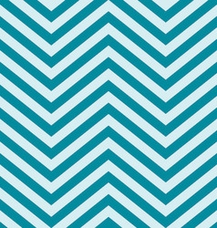 Turquoise Blue V Shape Chevron Background vector image