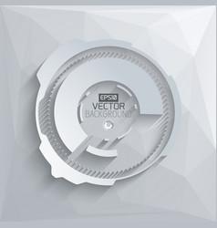 digital futuristic template vector image vector image