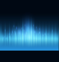 Abstract blue light ray wall background vector