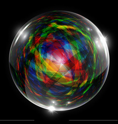 abstract bubble vector image vector image