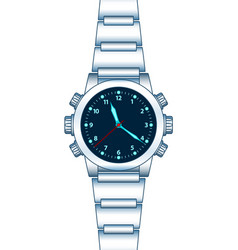abstract wrist watch vector image