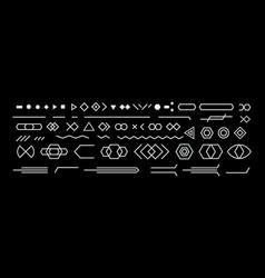 black and white neo memphis geometric design vector image