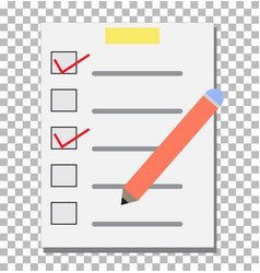 check list transparent checklist icon pictogram vector image