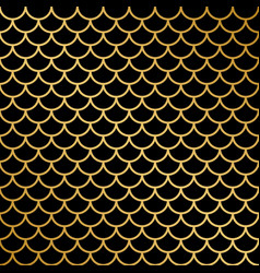 fish scale pattern vector image