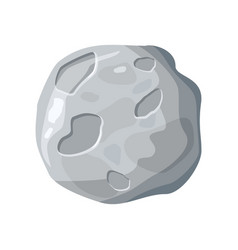 Moon satellite icon vector