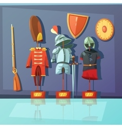 Museum Armor vector image