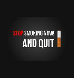 No tobacco day banner vector