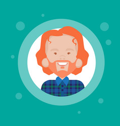 Profile icon male avatar man cartoon portrait vector