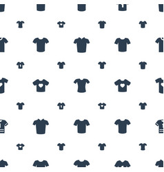 T icons pattern seamless white background vector