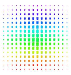 trash bin icon halftone spectrum effect vector image