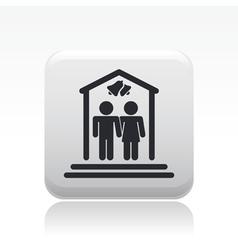 wedding icon vector image vector image