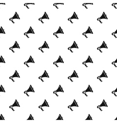 Mouthpiece pattern simple style vector image vector image