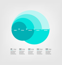 arc chart steps infographics - can a vector image