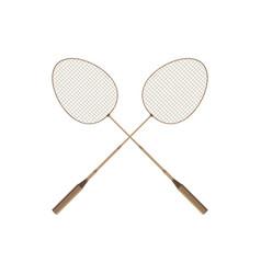 Badminton rio icon design player racket sport vector