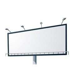 bill board 01 vector image