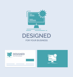 internet layout page site static business logo vector image