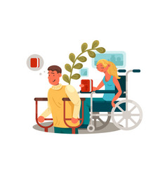 persons with disabilities vector image