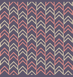 seamless fashion arrows patterns vector image