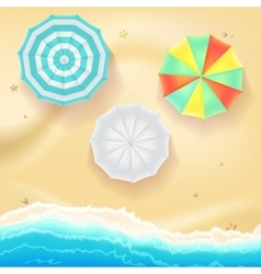 Summer travel background vector