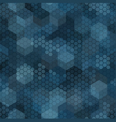 Texture military marine blue colors forest vector