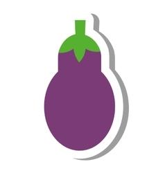 beet vegetable healthy icon vector image