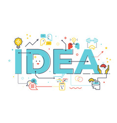 Creative idea word vector