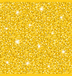 bright golden glittering seamless pattern vector image