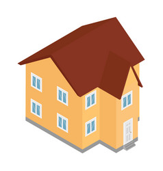 house building city vector image