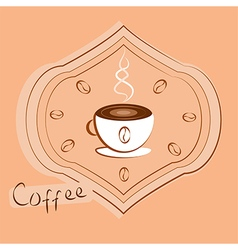 Arabic coffee vector