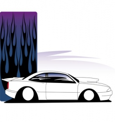 avenger car vector image