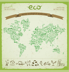 ecological harmony concept vector image