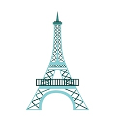 tower eiffel france icon vector image