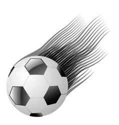 Ball on a white background vector