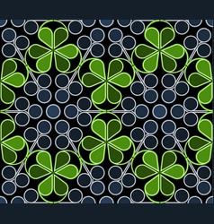 Blueberries pattern vector