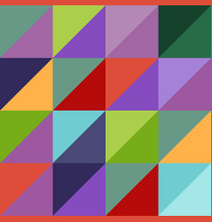 bright abstract geometric pattern vector image