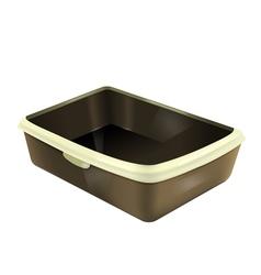 empty cat litter box vector image