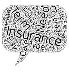 Insurance Made Easy A Guide For The Consumer text vector
