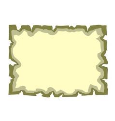 Parchment paper Empty banner vector image
