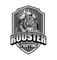 Rooster fighting thailand chicken 5 vector