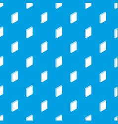 Sandwich panel pattern seamless blue vector