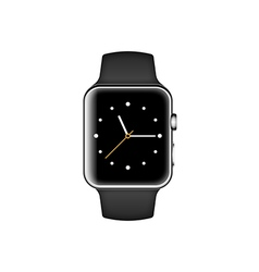 Smart watch isolated on white background vector