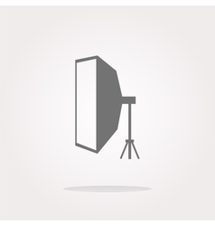 softbox Icon softbox icon flat softbox icon vector image vector image